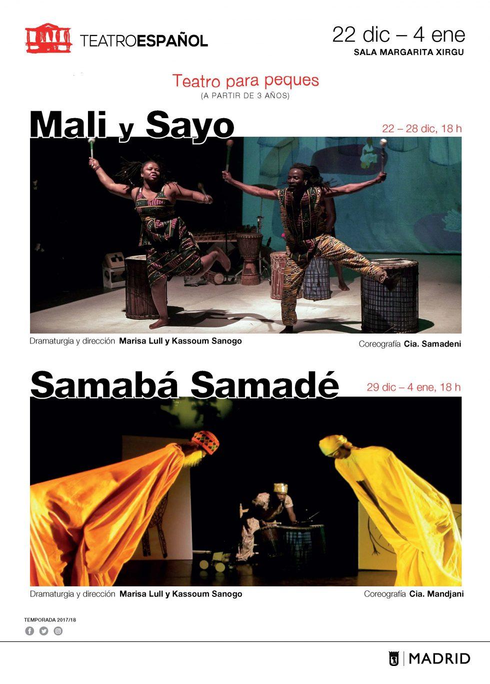 Mali y Sayo, una historia africana// Teatro Infantil-Familiar // 2017